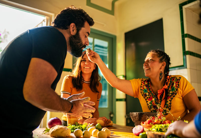Airbnb Experiences has expanded with a 'Cooking' category