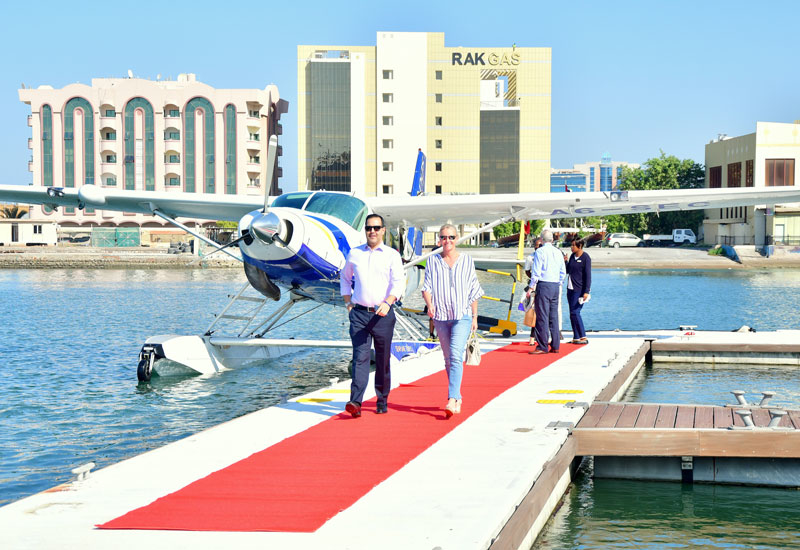 Priced at AED 1,295 per person, each seaplane holds six to eight guests