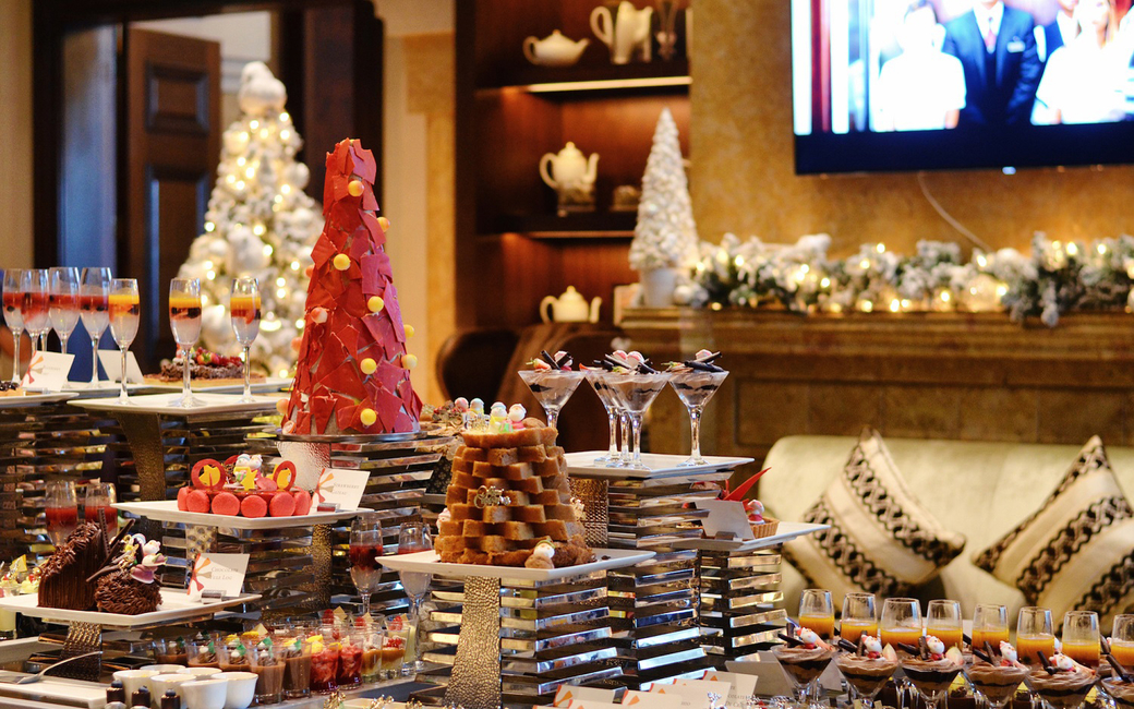 The property will be hosting a Christmas Eve dinner or Christmas day brunch at The Terrace