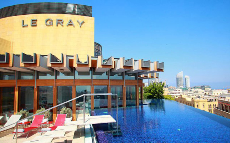 Campbell Gray Hotels' portfolio includes the newly opened Alex on Lake Zurich, Le Gray, Beirut