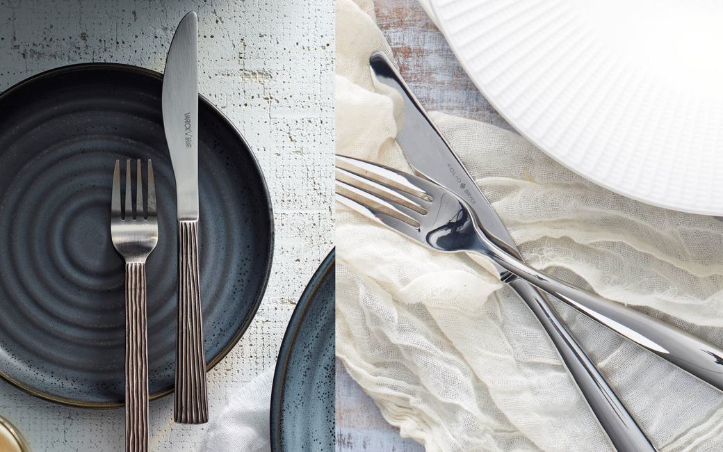 Steelite has launched two cutlery collections – Varick and Folio