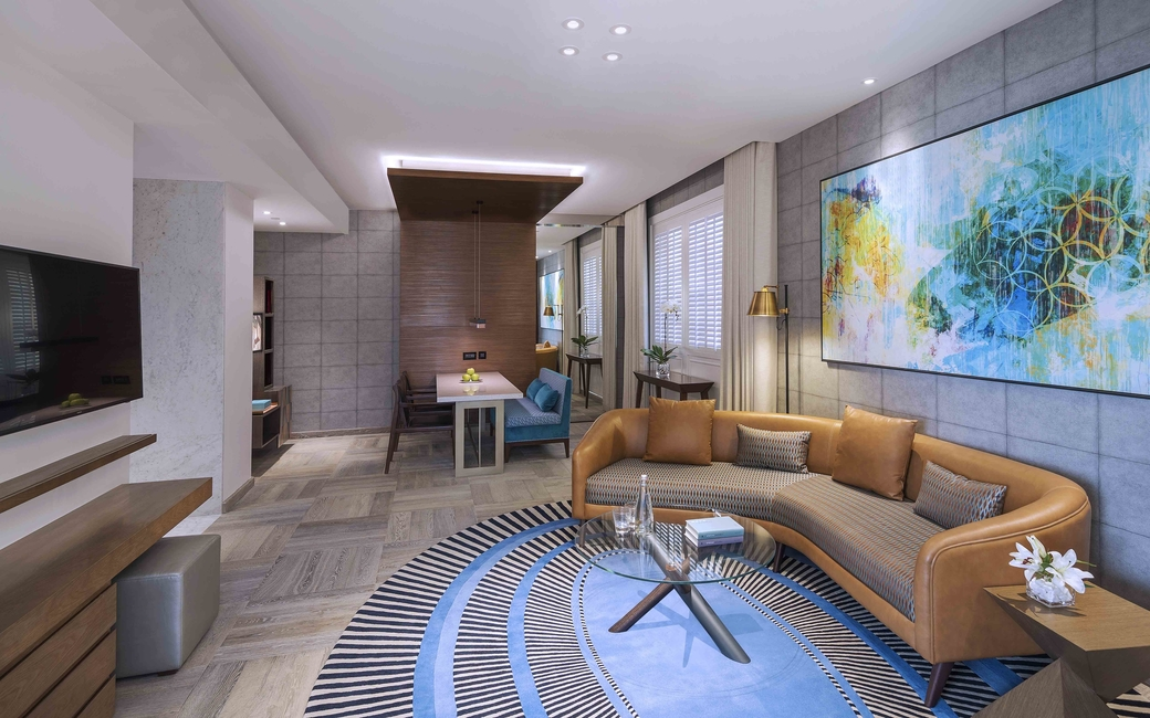 The property features 25 studios, 66 one-bedroom and 26 two-bedroom apartments that range from 46 to 145 sqm