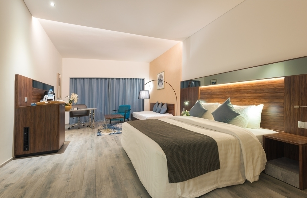 Room rates starting from AED 380 per room per night