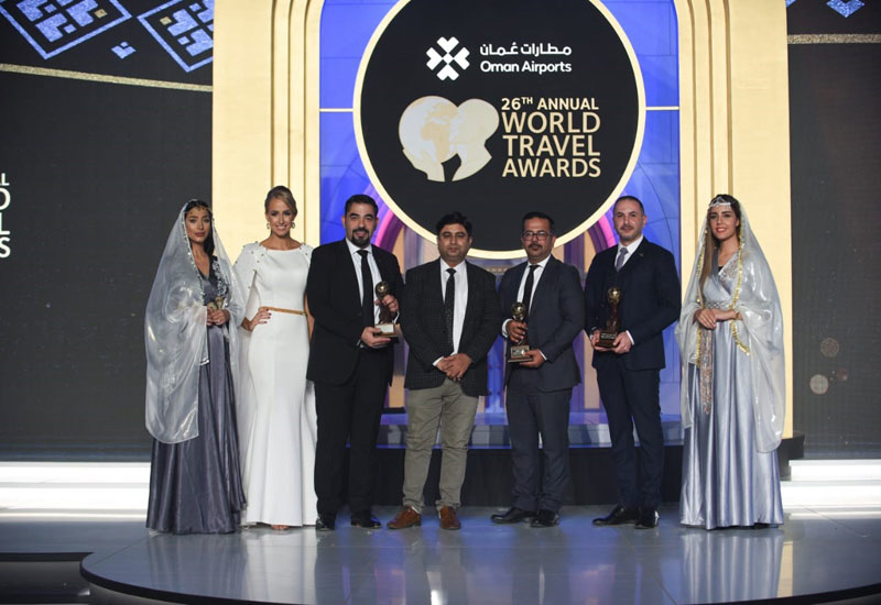 Nirvana at World Travel Awards