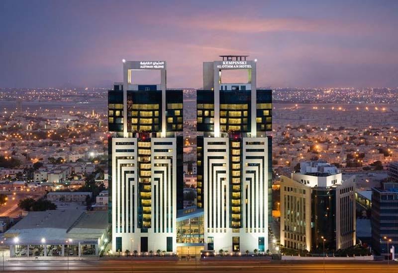 The exterior of the Kempinski Al Othman Hotel Al Khobar