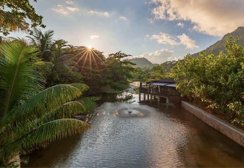 Children are free to explore the hotel grounds, take soil and water samples from the surrounding wetland and lagoon
