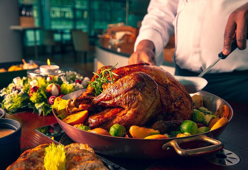 Rosewood Abu Dhabi's Aqua venue will serve Christmas dishes