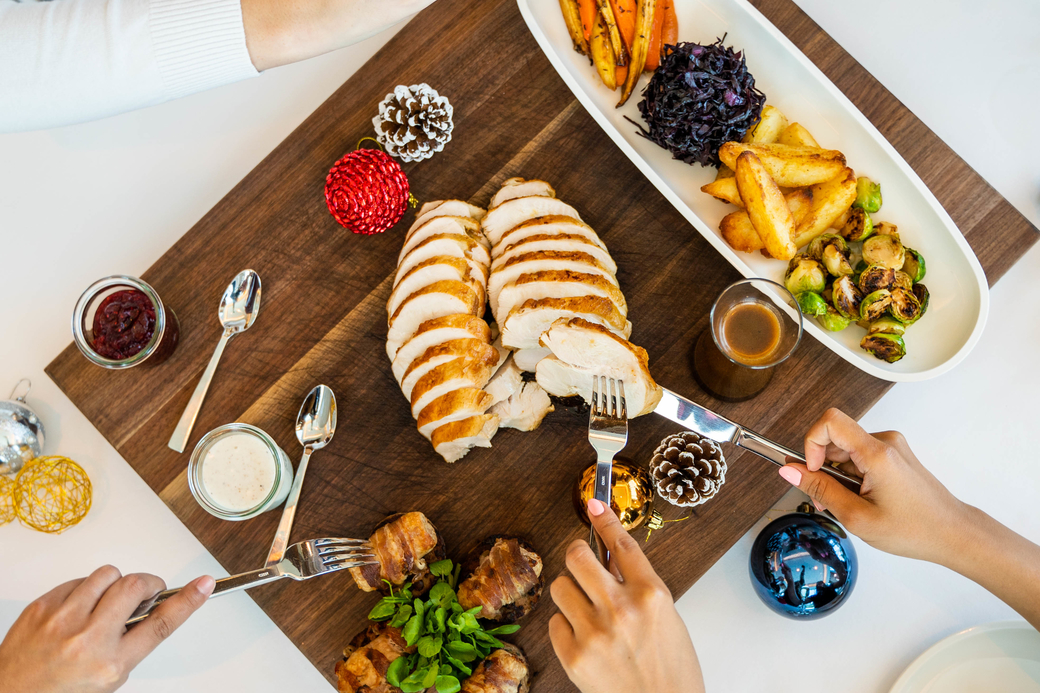 Lucky winners stand a chance to win a Christmas day brunch and an NYE package for four people
