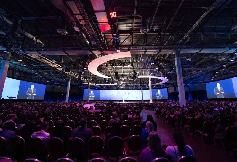 Expedia Group's Explore '19 conference in Las Vegas, USA