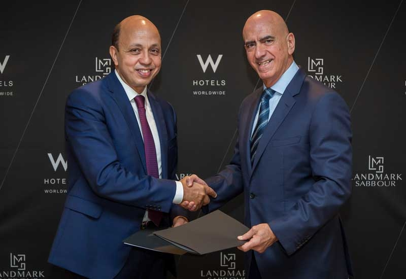 Signing ceremony of W Cairo