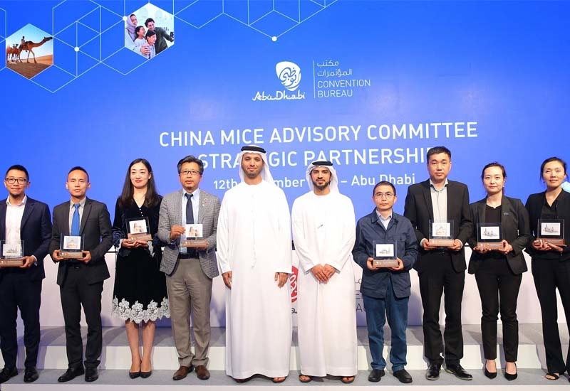 Leaders from the MICE industry in China were appointed as part of the advisory committee following a strategic partnership agreement, which was signed in Abu Dhabi on December 12, 2019