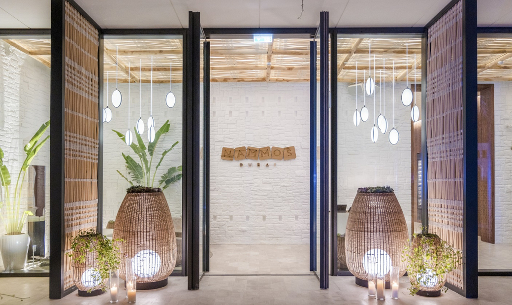 The interiors were designed by London-based design firm Elastic Interiors