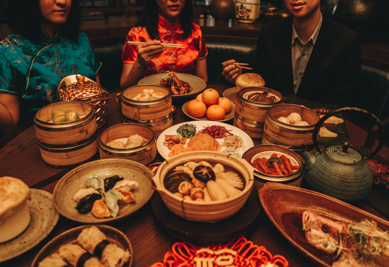 The high-end Asian eatery will firstly host a hot pot-inspired brunch on New Year's Eve