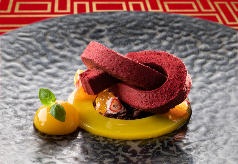Named Lucky Jie, the dessert will be in the shape of a red knot