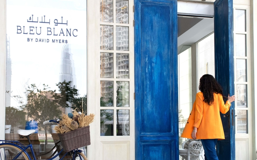 French restaurant Bleu Blanc's brunch is served on Fridays from 1pm-4pm