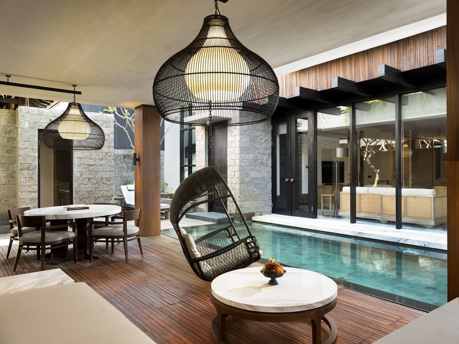The one, two, and three-bedroom pool villas offer visitors complete privacy and spacious indoor-outdoor living