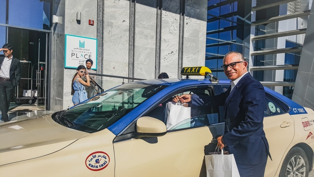 Through this initiative, Millennium Place Barsha Heights educated taxi drivers about the hotel's location