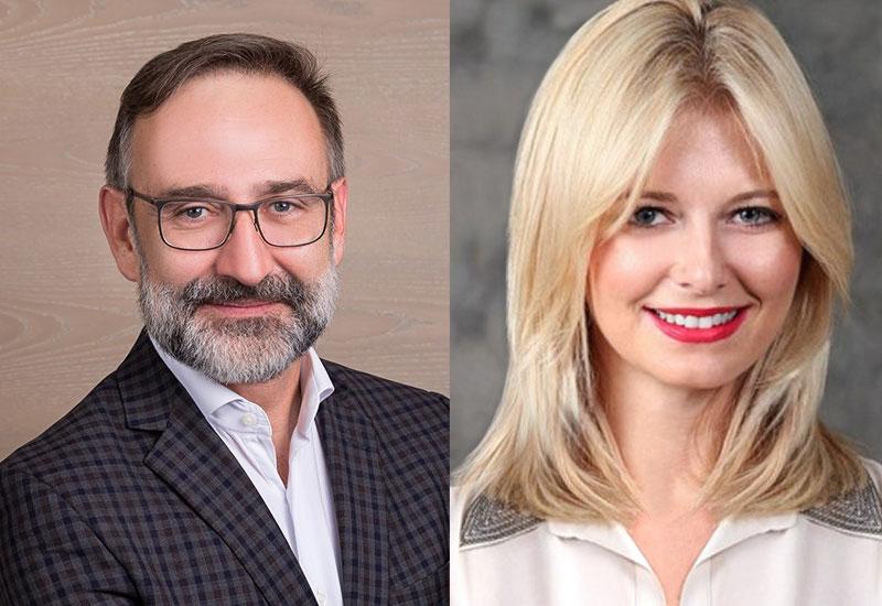 (L-R) Stefan Geyser and Hana Fuchs