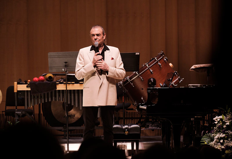 NYU Abu Dhabi artistic & musical director of the Chamber Music Concert Series, Rony Rogoff