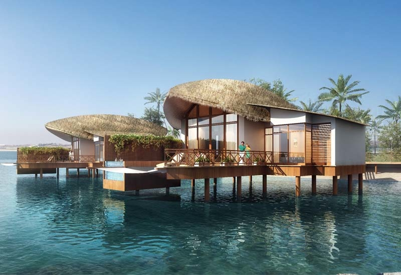 The property will overlook a private beach and an eco-reserve with mangroves