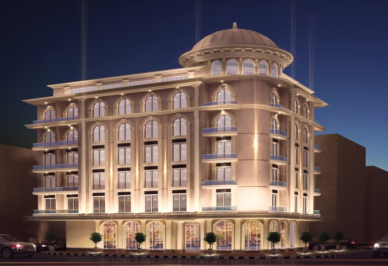 The hotel is 15 minutes from the Dubai International Airport