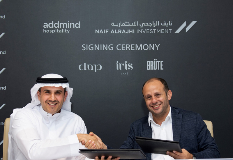 Naif Alrajhi Investment last year signed a collaboration agreement with Addmind Hospitality to open a number of concepts in Riyadh
