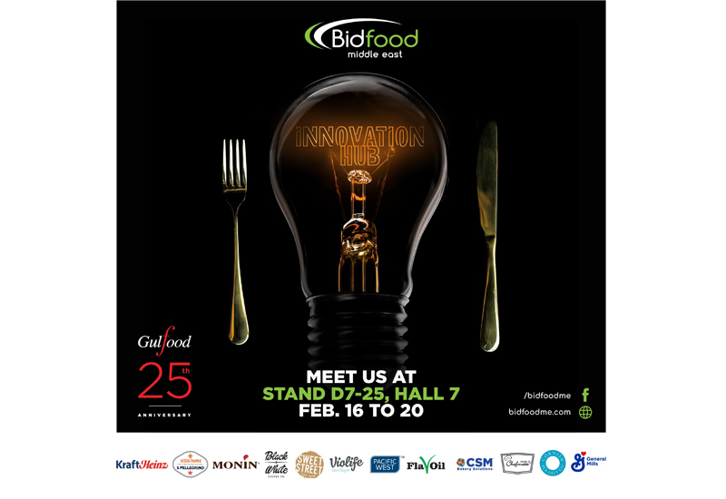 More than 15 brands within Bidfood's portfolio will be represented