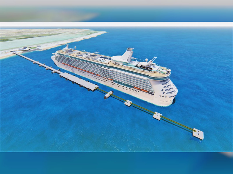 The vessel is being built by Dutch construction company Royal BAM Group