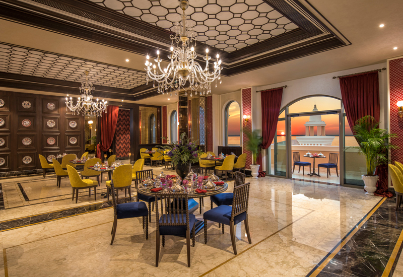 Orient is the hotel's Turkish restaurant, offering guests a fine-dining experience within both outdoor and indoor settings