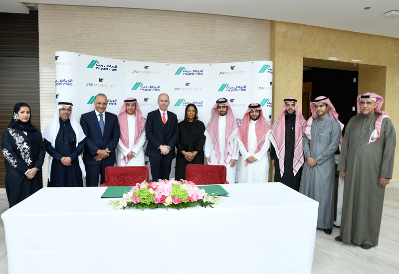 The property will be part of the Capital Gate community project in the Kingdom
