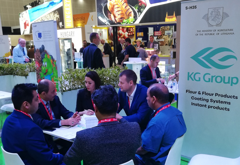 Lithuanian companies have been active participants in Gulfood