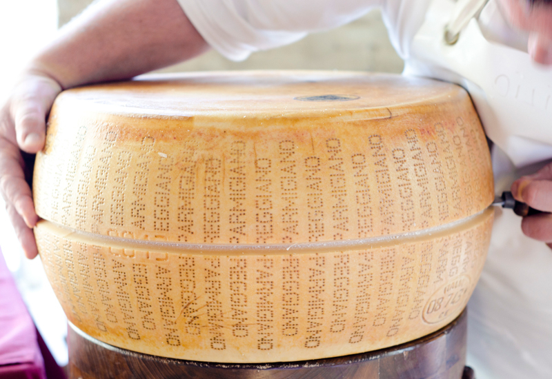 Founded in 1901, the Consortium is a trade union to authenticate the origin of Parmigiano Reggiano cheese