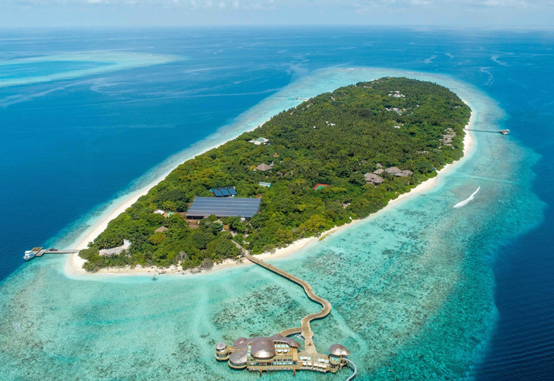 Soneva's Fushi property grinds down food, metals, bottles and other waste into things of economic value