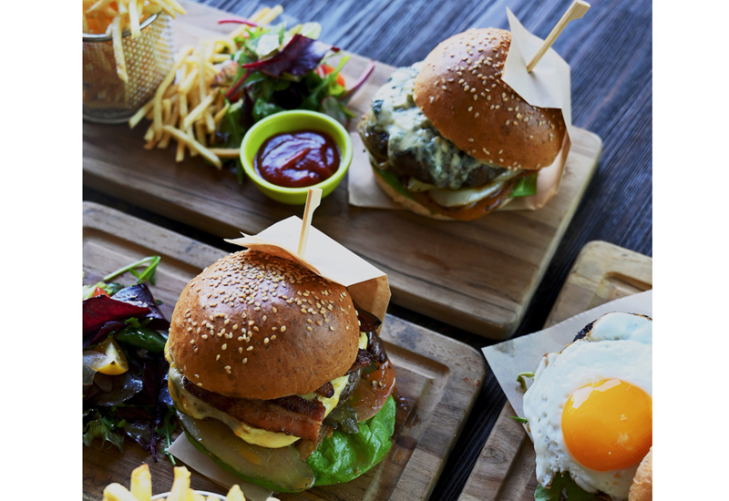 The Six Nations burgers will be served from February 1 to March 14