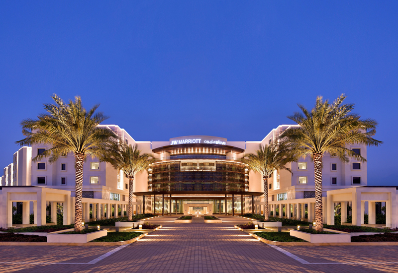 For MICE travellers, JW Marriott Muscat has 2,500 sqm of banqueting space