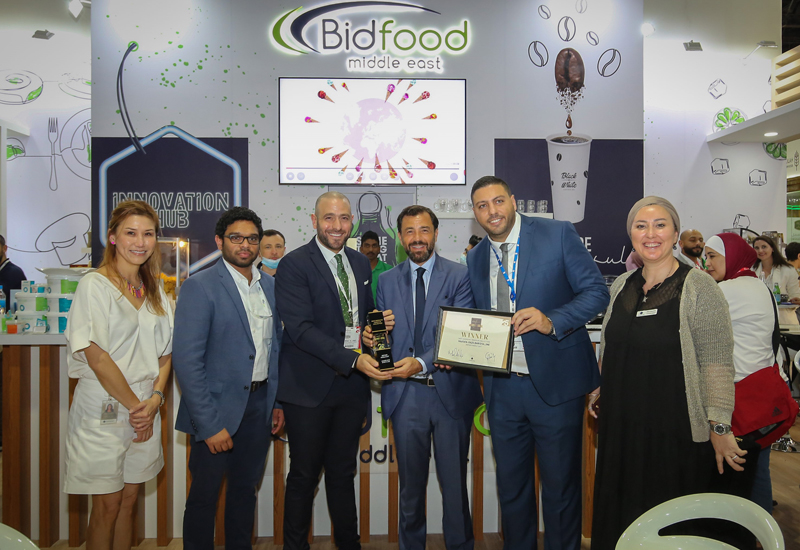 Bidfood Middle East received the 'Most Innovative Frozen or Chilled Food' award