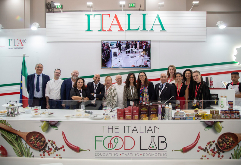 ITA took to Gulfood with its ITAlian Food Lab, bringing together Italian chefs to prepare dishes using organic and sustainably-sourced ingredients