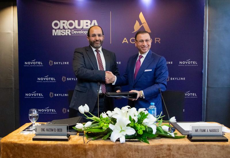 The Novotel Alexandria signing ceremony