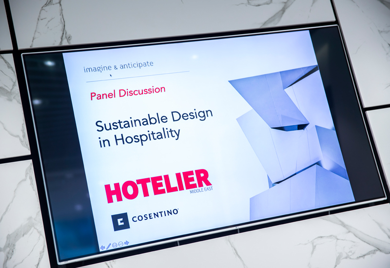 Photos: Sustainable design in hospitality panel discussion