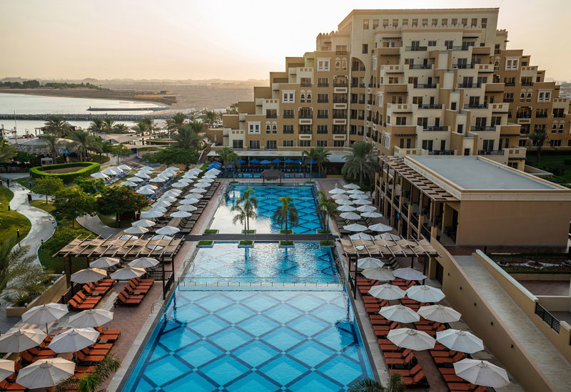 The 650-key hotel first opened in 2014, located on the emirate's Al Marjan Island