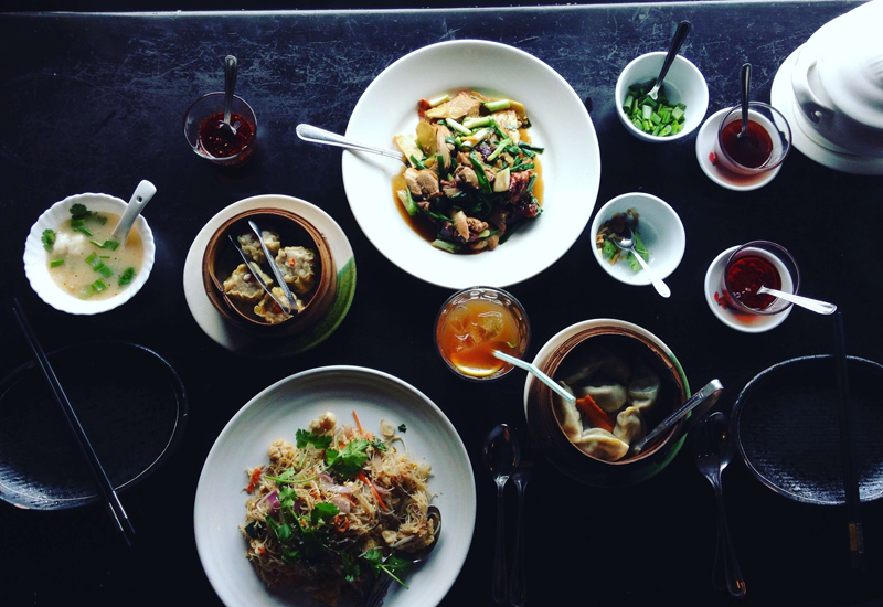 Dishes from Lan Kwai Fong, one of the shortlisted Hidden Gems