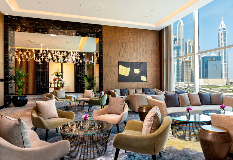 ICHL's Taj Jumeirah Lake Towers opened its doors at the end of 2019