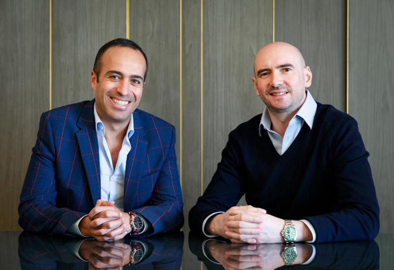 Paul Mallee and Rami Shamaa, co-founders and joint managing directors of Maison Privee