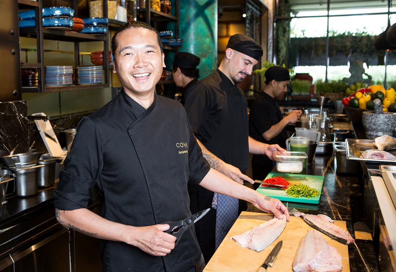 Benjamin Wan is executive chef for Coya Middle East