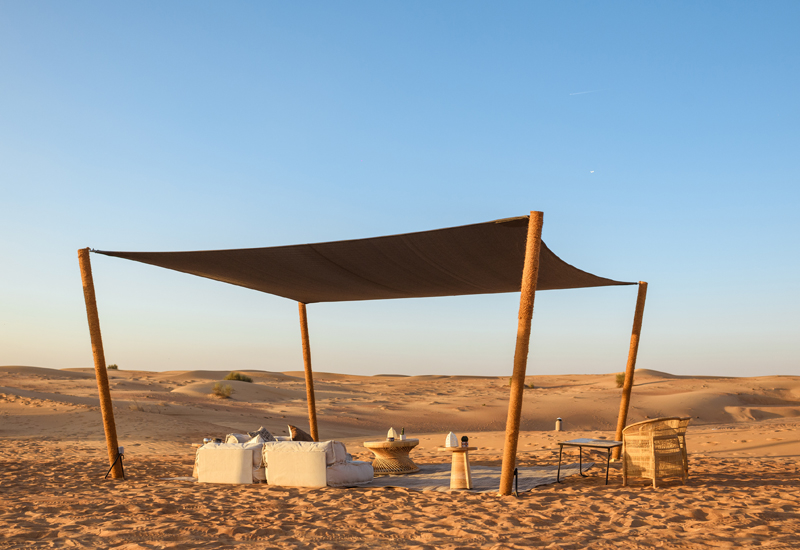 Sonara Camp is an environmentally-minded concept, actively working to respect the local wildlife and habitats