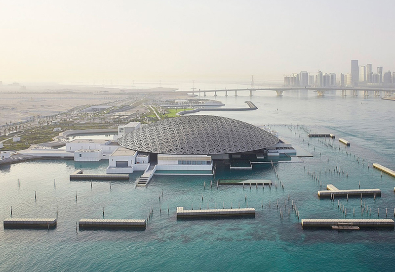 The Louvre Abu Dhabi is one of many sites to temporarily close