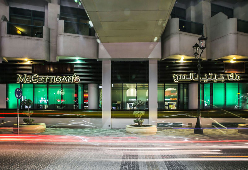 McGettigan's JBR at Hilton Dubai Jumeirah remains open
