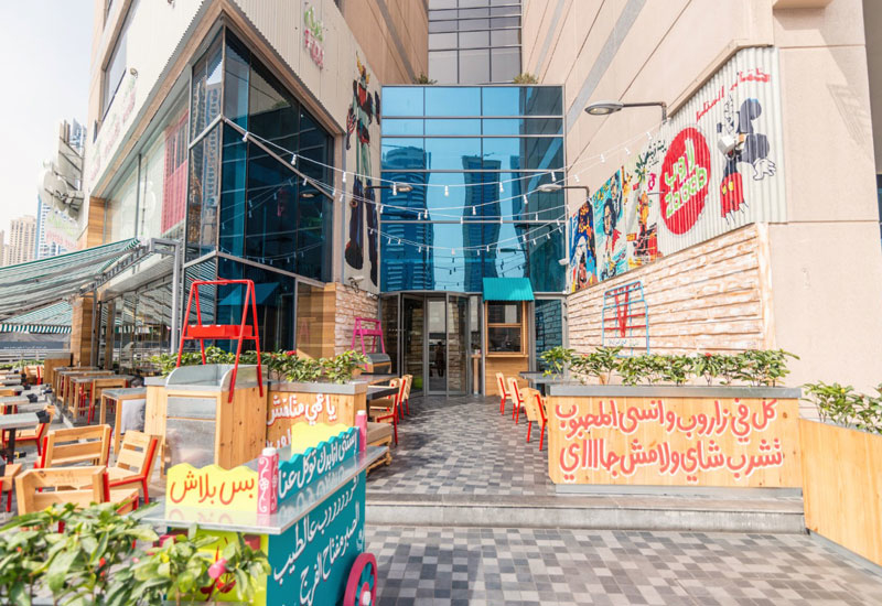 Photos: Zaroob in Dubai Marina