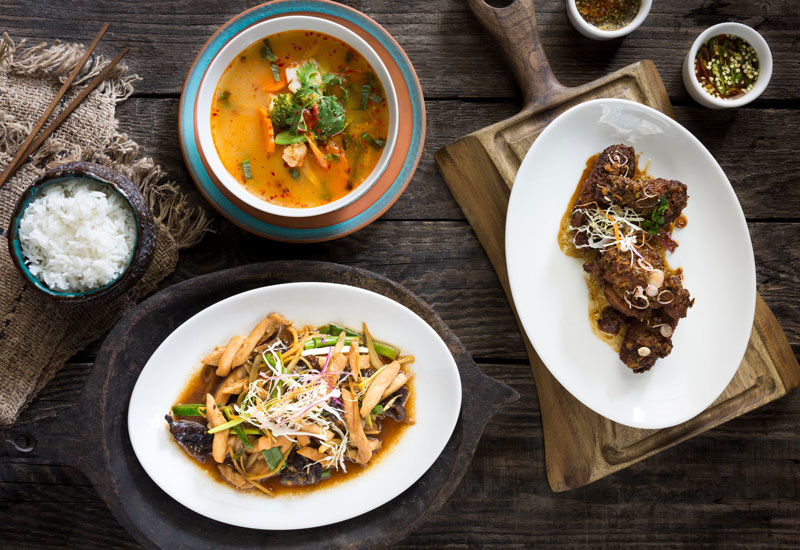 Fuchsia Urban Thai is one of 300 restaurants available on DeliverDXB
