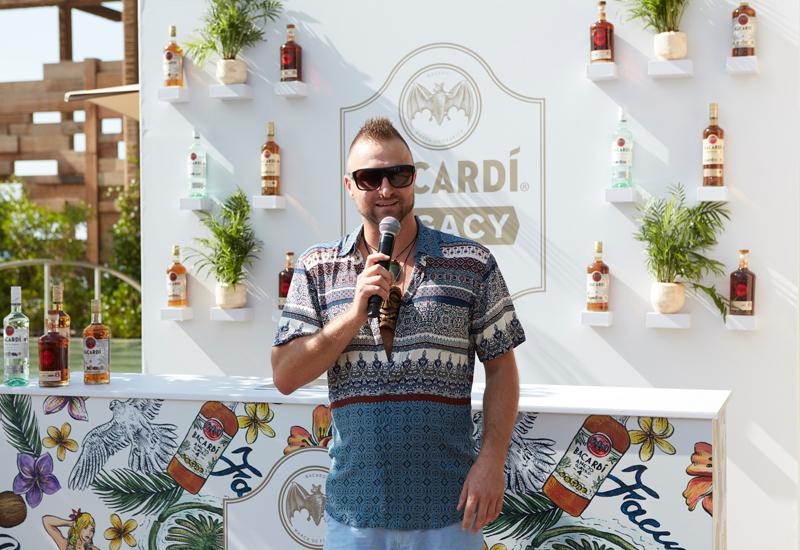 Ollie Hampton will host masterclasses for Bacardi